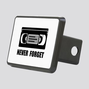 VCR Tape Never Forget Hitch Cover