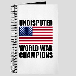 World War Champions Journal