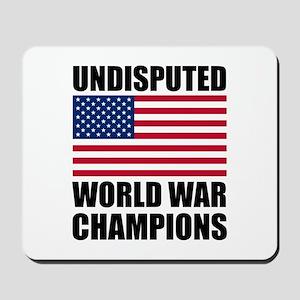 World War Champions Mousepad