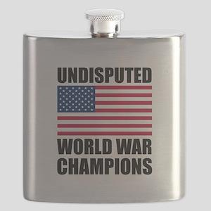 World War Champions Flask