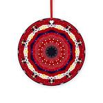 Bonnie Vent's MJ Tribute Mandala Ornament (Round)