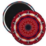 Bonnie Vent's MJ Tribute Mandala Magnets