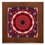 Bonnie Vent's MJ Tribute Mandala Framed Tile
