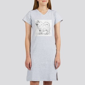 Samoyed Women's Nightshirt