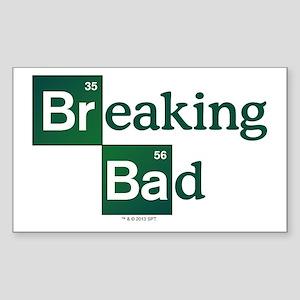 Breaking Bad Logo Sticker (Rectangle)