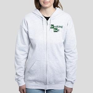 Breaking Bad Logo Women's Zip Hoodie