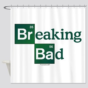 Breaking Bad Logo Shower Curtain