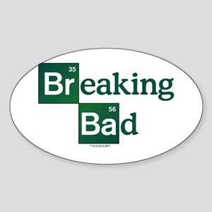 Breaking Bad Logo Sticker (Oval)