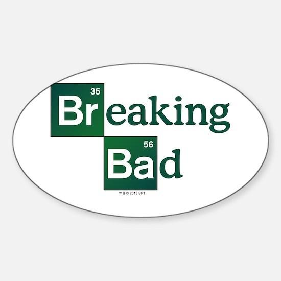 Breaking Bad Logo Sticker (Oval)