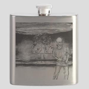 George Carlin Flask