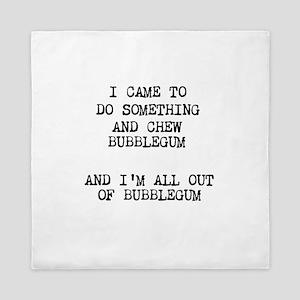 Chew Bubblegum Queen Duvet