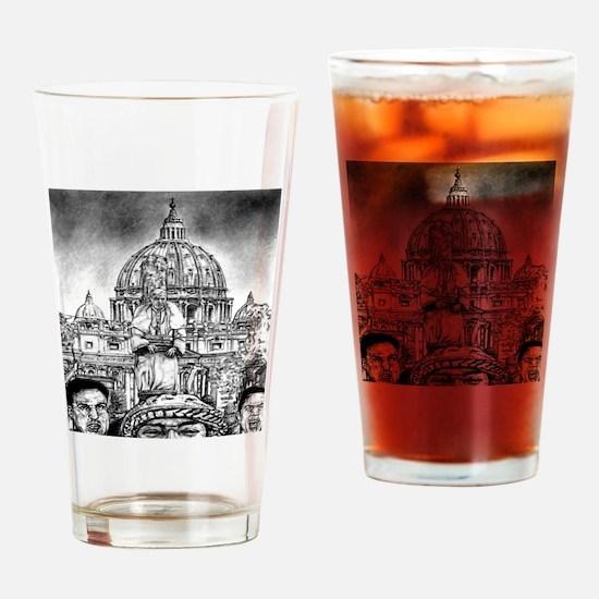 Pope Benedict XVI Drinking Glass