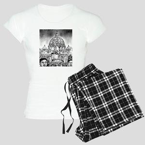 Pope Benedict XVI Women's Light Pajamas