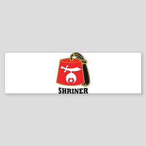 Fez_Shriner Bumper Sticker