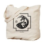 Crescent Dragon Tote Bag