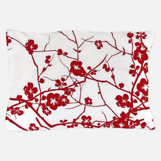 Cute Cherry blossom red Pillow Case