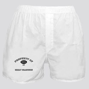 Property of my GREAT GRANDSON Boxer Shorts