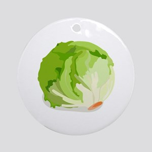 Lettuce Head Ornament (Round)