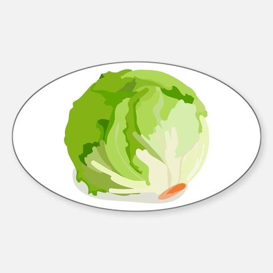 Lettuce Head Decal