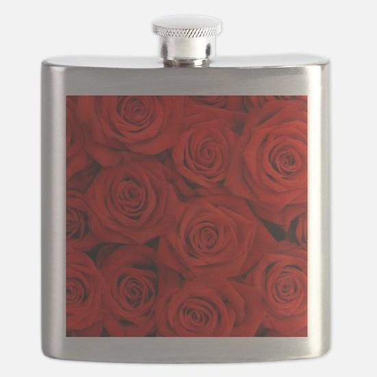 Unique Red Flask