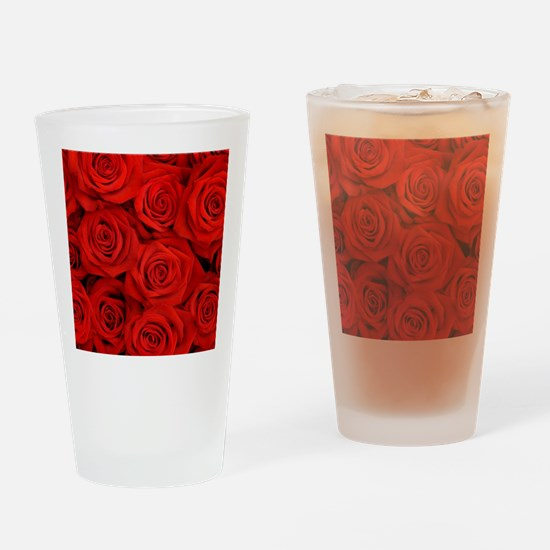 Cool Rose art Drinking Glass