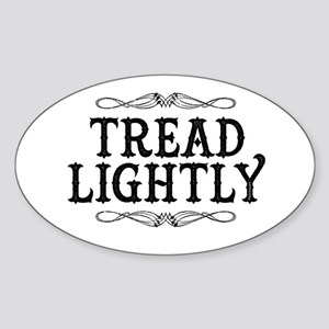 Breaking Bad: Tread Lightly Sticker (Oval)