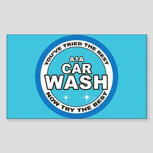 A1 Car Wash Sticker (Rectangle)