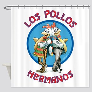 Los Pollos Hermanos Shower Curtain