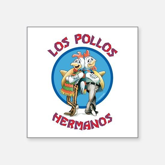 """Los Pollos Hermanos Square Sticker 3"""" x 3"""""""