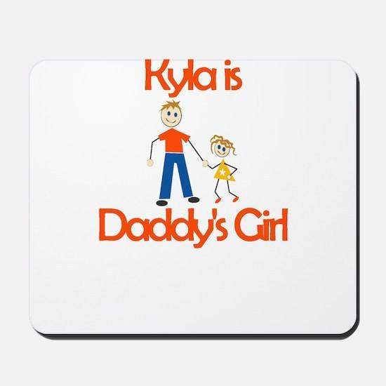 Kyla is Daddy's Girl Mousepad