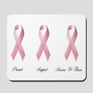 Pink Ribbon 2 Mousepad