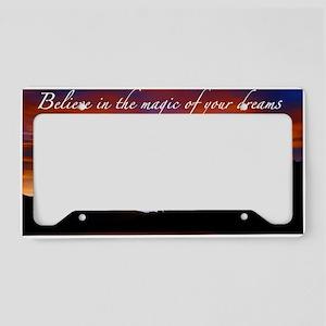 Believe License Plate Holder