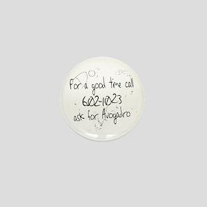 Avogadro Graffiti Mini Button