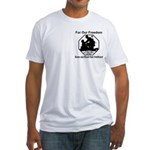 Those who sacrificed Fitted T-Shirt