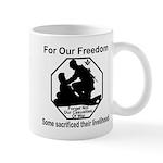 Those who sacrificed Mug