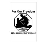 Those who sacrificed Postcards (Package of 8)