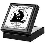 Those who sacrificed Keepsake Box