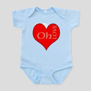 OYOOS Heart Oh Love design Body Suit