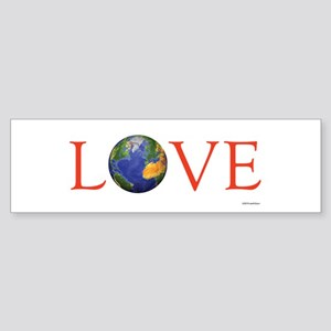 Love (bumper) Bumper Sticker