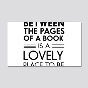 Between pages of book Wall Decal