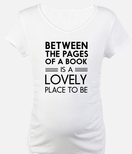 Between pages of book Shirt