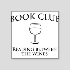 Book club read between wines Sticker