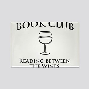 Book club read between wines Magnets