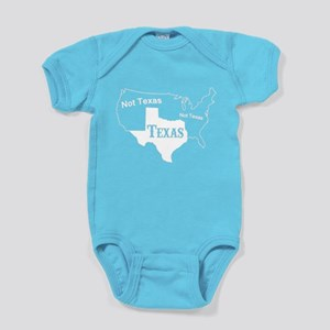 Texas Not Texas T Shirt Baby Bodysuit