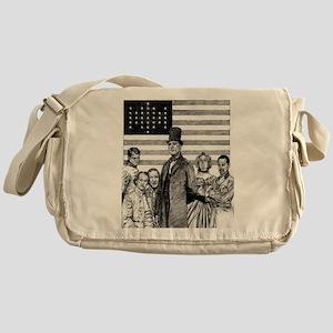 Barack Obama Messenger Bag