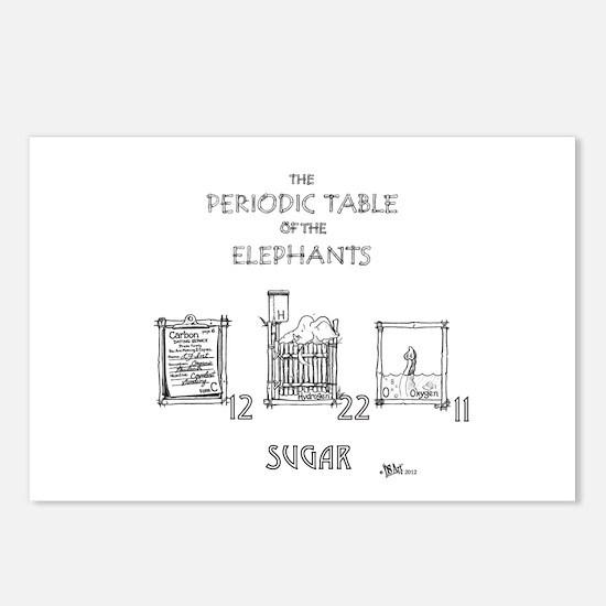 Sugar Postcards (Package of 8)