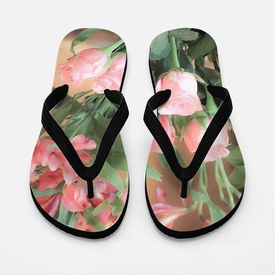 Rose Bouquet 2 Flip Flops