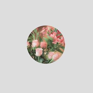 Rose Bouquet 2 Mini Button