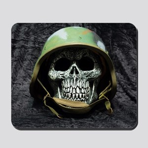 Army skull Mousepad