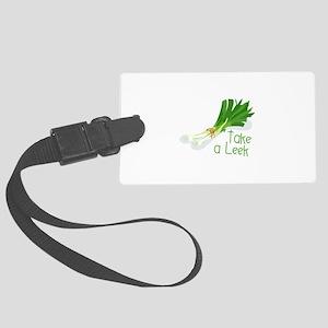 Take a Leek Luggage Tag